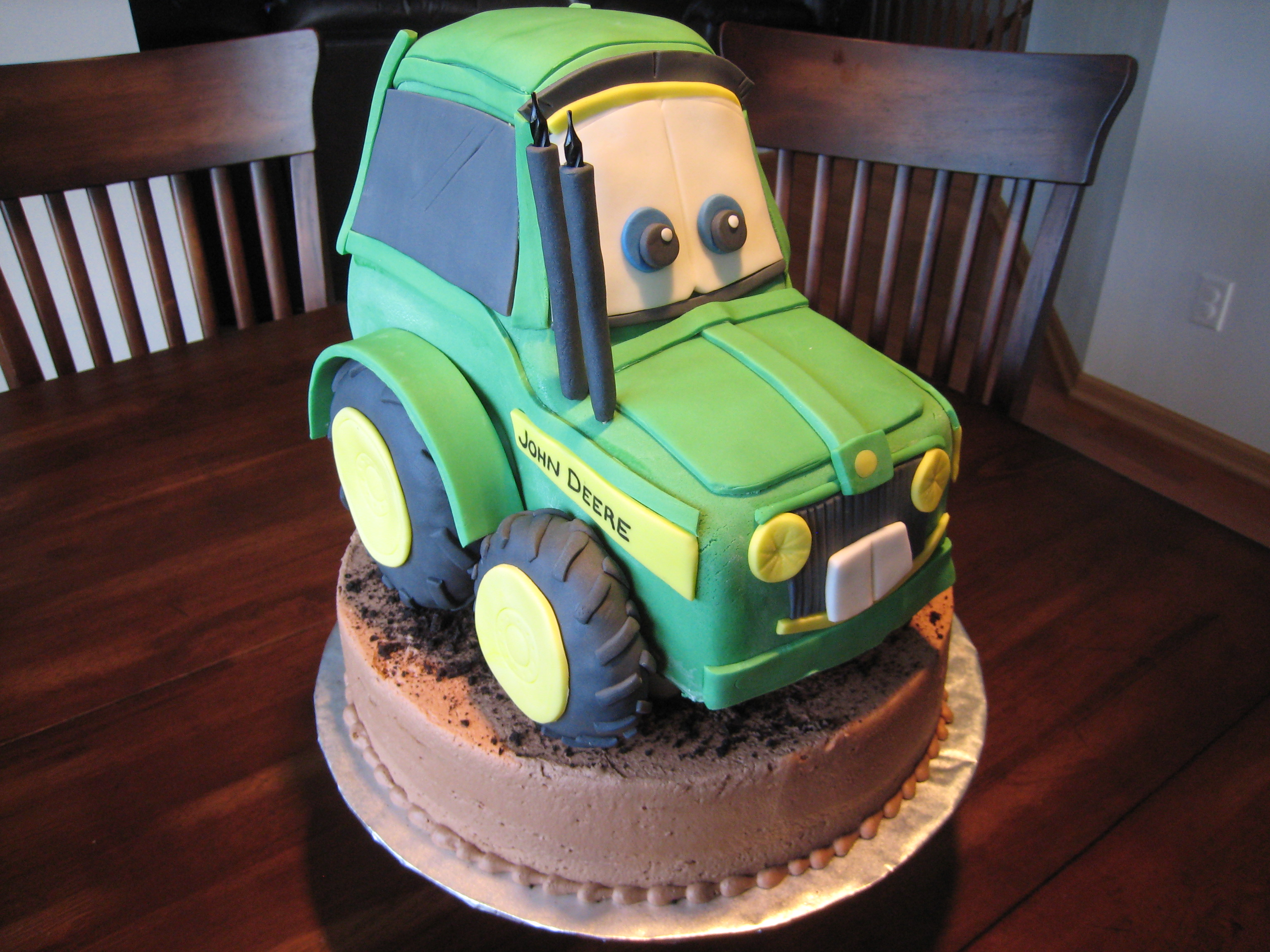 A 3D John Deere Tractor Cake Confectionery Cake Shop