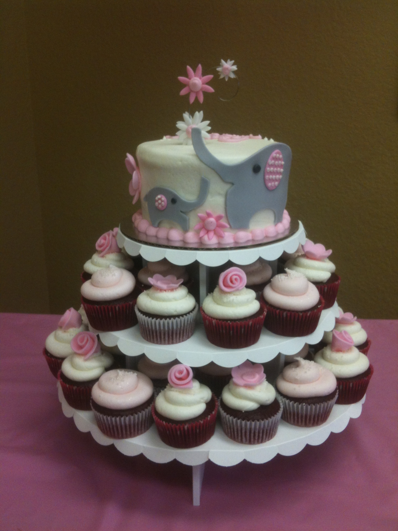 Cake Flavor Ideas For Baby Shower : OH BABY! It s a GIRL! Confectionery Cake Shop